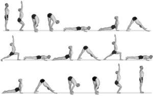 Ashtanga vinyasa yoga salutation 2